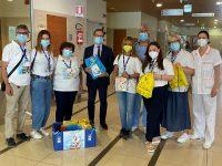 Ospedale di Potenza. Donati kit di accoglienza per i piccoli pazienti della Pediatria