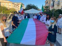 Fratelli d'Italia scende in piazza a Salerno contro la criminalità organizzata