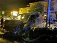 Sala Consilina: perde il controllo dell'auto e finisce su un muretto. Ragazza ferita