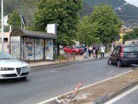 Scontro tra auto a Sala Consilina in località Sant'Antonio. Ferite due ragazze del posto