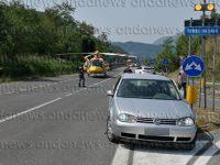 """Scontro tra auto e moto sulla """"Bussentina"""". Gravemente ferito centauro di Teggiano"""