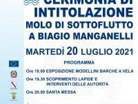 Agropoli: domani cerimonia di intitolazione del molo di sottoflutto a Biagio Manganelli