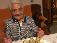 Basilicata terra di longevità. A Tramutola nonna Matilde Ferretti spegne 103 candeline