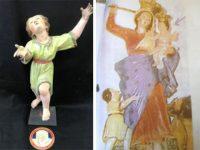 Furti nei Monasteri delle Clarisse. Restituita alla chiesa di Eboli scultura rubata negli anni Novanta