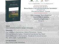 """Stasera a Sassano la presentazione del libro di Emilio Sarli """"Bonum Facere. Il racconto dei bonificatori benedettini"""""""
