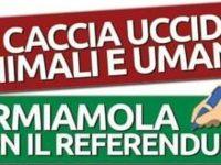 """Referendum per dire """"NO ALLA CACCIA"""". A Sala Consilina la raccolta delle firme in Comune"""