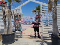 Stabilimenti balneari privi di autorizzazioni. Sequestri e denunce a Capaccio Paestum