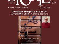"""Domani a San Giovanni a Piro appuntamento con l'attore Bruno Cariello e la proiezione del suo film """"Corporalmente rinchiuse"""""""