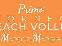 Potenza: dal 25 al 29 agosto primo Torneo di Beach Volley benefico in memoria di Marco e Marisol