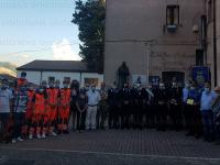 """Il riconoscimento """"Caggiano nel Cuore"""" ai volontari della Protezione Civile Gopi-Anpas e ai Carabinieri"""