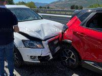Incidente stradale lungo l'A2 del Mediterraneo a Padula. Due persone ferite