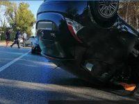 Rocambolesco incidente sulla litoranea a Battipaglia. 4 auto coinvolte e diversi feriti tra cui 2 bambini
