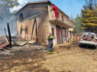 """Incendio a Caggiano, individuato presunto piromane. Il Sindaco:""""Ci costituiremo parte civile"""""""