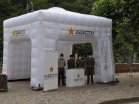 """A Campagna il 4° Reggimento Carri allestisce un info point  per i giovani all'evento """"Museo sotto le stelle"""""""