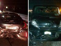 Incidente in A2 tra Atena Lucana e Polla. Scontro tra due auto e un furgone, feriti in ospedale
