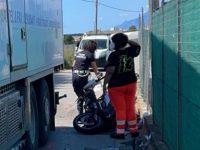 Tragico scontro tra scooter e camion a Pontecagnano. Perde la vita un uomo