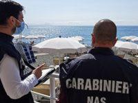 Irregolarità e alimenti non tracciati in due lidi balneari di Pontecagnano. Scatta il blitz dei NAS