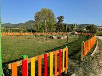 Montesano: torna fruibile dopo la riqualificazione il parco giochi di Tardiano