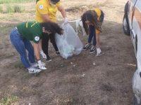 Sassano: la Protezione Civile Gruppo Lucano in campo contro l'abbandono di rifiuti