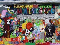 Domani donazione di un murales a Monte San Giacomo a cura del Forum dei Giovani