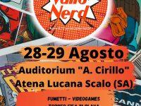 """Atena Lucana: il 28 e 29 agosto """"Vallo Nerd"""", manifestazione fumettistica, videoludica ed informativa"""