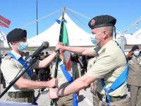 Reggimento Guide. A Salerno il Colonnello Cesaro cede il comando al parigrado D'Altorio
