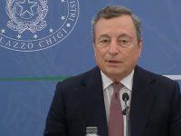 """Covid. Il Presidente Draghi:""""Siamo orientati verso l'obbligo vaccinale e la terza dose del vaccino"""""""