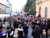 """A Potenza domani la """"Giornata del laureato"""" con il lancio dei tocchi in Piazza Prefettura"""