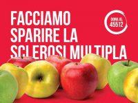 """Dal 1° al 4 ottobre torna nelle piazze """"La Mela di Aism"""" per sostenere la ricerca contro la sclerosi multipla"""