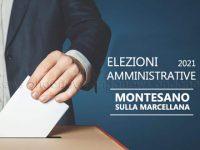 Elezioni Amministrative 2021 Montesano sulla Marcellana. Le liste