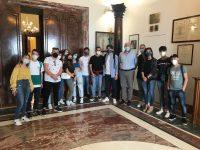Una delegazione del Forum dei Giovani di Polla ricevuta a Palazzo Sant'Agostino dal Presidente della Provincia