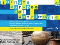 Giornate Europee del Patrimonio. A Sala Consilina apertura del Museo Archeologico e della Cappella di San Giuseppe