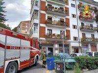 Incendio in un appartamento di Potenza. Intervengono i Vigili del Fuoco, illesi due anziani