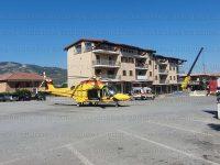 Incidente sul lavoro a Montesano. Feriti due operai