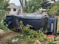 Sala Consilina: auto esce fuori strada e si ribalta in località Fonti. Ferita ragazza di Buonabitacolo