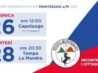 """Elezioni. Domani la lista """"Nuova Montesano"""" incontra il Capoluogo, il 28 settembre appuntamento a Tempa La Mandra"""