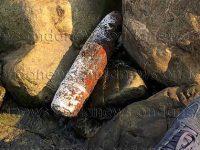 Ritrovato un ordigno bellico lungo il litorale di Capitello. Si lavora per la rimozione