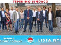 """""""Padula Visione Comune"""". Presentata la squadra a sostegno del candidato sindaco Dario Mario Tepedino"""