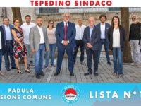 Elezioni Padula. Il 19 settembre presentazione della lista n.1 con candidato sindaco Dario Mario Tepedino