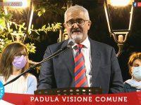 Padula Visione Comune. Ieri la presentazione della lista del candidato sindaco Dario Mario Tepedino