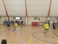 Lo Sporting Sala Consilina vince il test con l'Alma Salerno 4-2, doppietta di Brunelli