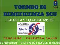Teggiano: dal 27 settembre un torneo di calcio solidale organizzato dai ragazzi del Servizio Civile