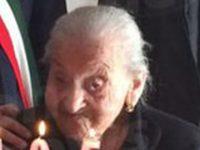 Lutto a Montesano per la morte di Maria Rachele Sabia. Aveva 108 anni, era la cittadina più longeva
