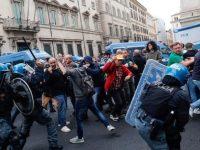 """No Green Pass, violenze a Roma. Da Sasso di Castalda, Comune antifascista: """"Via certi partiti"""""""