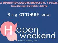 """Salute mentale delle donne. L'8 e 9 ottobre """"Open Weekend"""" a Salerno organizzato dall'ASL"""