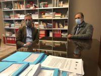 """Il Presidente lucano Bardi visita la sede CGIL di Potenza. """"Un atto dovuto e sentito"""""""