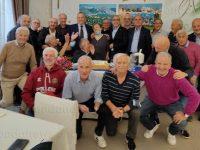 A distanza di mezzo secolo si ritrovano i calciatori della Pollese del compianto presidente Gerardo Ritorto