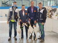 """In Repubblica Ceca i cani Dingo e Ginevra di un team di Picerno si laureano campioni al """"World Dog Finder"""""""