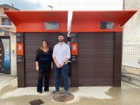 Installato presso la Ferramenta Eurofer di Padula il primo distributore self service di pellet