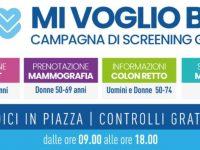 """""""Mi Voglio Bene"""". Dal 5 al 25 ottobre il tour per gli screening oncologici gratuiti dell'ASL Salerno"""